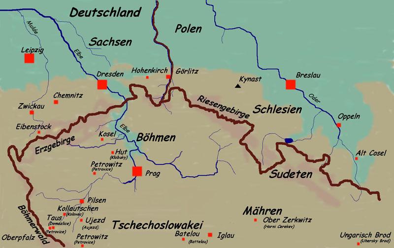 Böhmen Deutschland